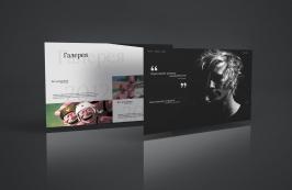 Сайт визитка для художника