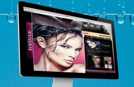 Сайт визитка модели