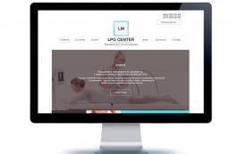 Макет сайта - LPG массаж