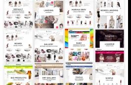 Интернет-магазин - элегантный HTML шаблон