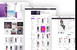 HTML шаблон для электронной коммерции