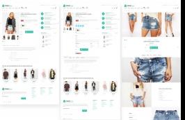 HTML шаблон для интернет-магазинов (12 главных)