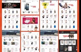 Шаблон интернет-магазина HTML