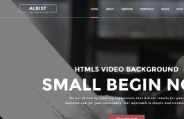 Креативный многоцелевой HTML5 шаблон