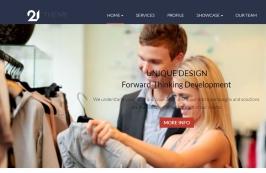 Корпоративный и бизнес-шаблон HTML