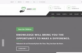 HTML шаблон для благотворительности