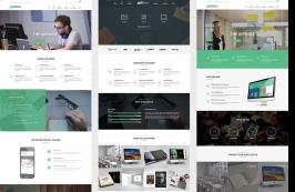 Адаптивный креативиный HTML шаблон