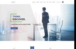Креативный HTML шаблон для бизнеса